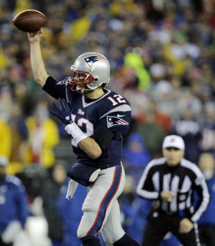 Tom Brady says he doesn't think the NFL will interview him until after the Super Bowl. (AP)