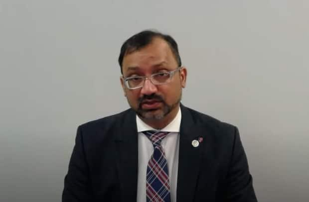 Dr. Wajid Ahmed, medical officer of health for Windsor and Essex County, returned to work Thursday after a leave of absence announced on March 11.