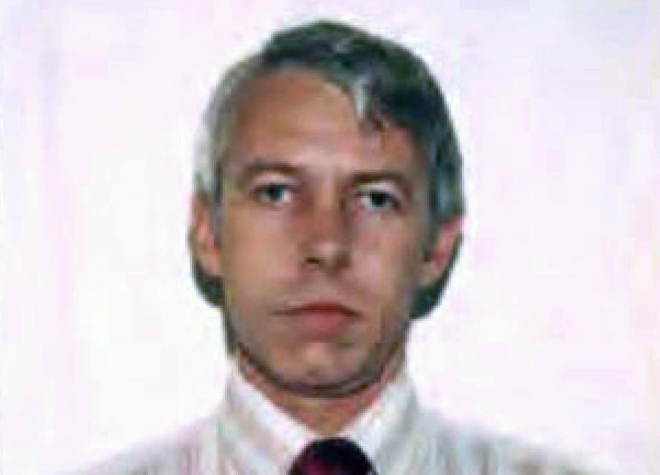 FILE – This undated file photo shows a photo of Dr. Richard Strauss, an Ohio State University team doctor employed by the school from 1978 until his 1998 retirement. On Wednesday, Sept. 22, 2021, a federal judge dismissed some of the biggest remaining lawsuits over Ohio State's failure to stop decades-old sexual abuse by Strauss, now deceased, saying it's indisputable he abused hundreds of young men but agreeing with OSU's argument that the legal window for such claims had passed. (Ohio State University via AP, File)