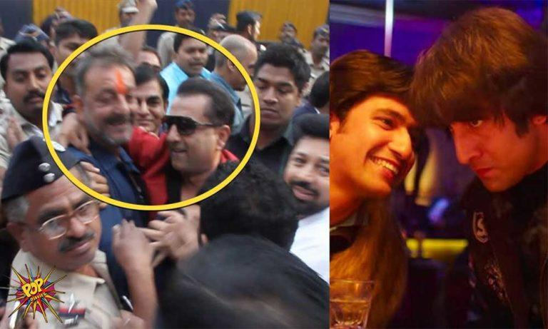 Here's The Unseen Footage Of Real-Life Kamli Meeting Sanjay Dutt!
