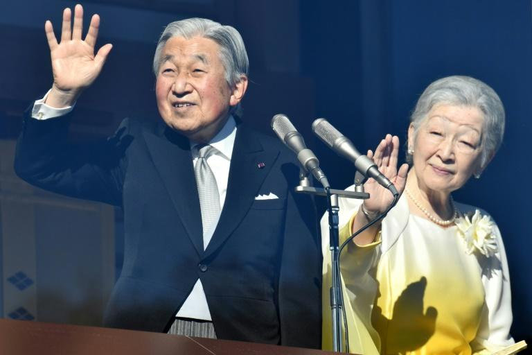 Japan's Emperor Akihito and Empress Michiko usually attend the new year sumo tournament