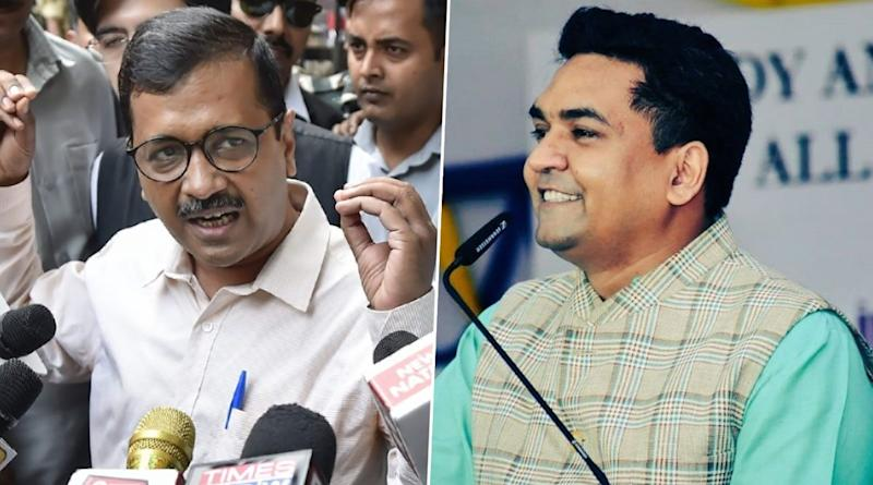 AAP Requests EC to Cancel Kapil Mishra's Candidature From Model Town Constituency, Calls Acceptance of His Nomination 'Wrongful'
