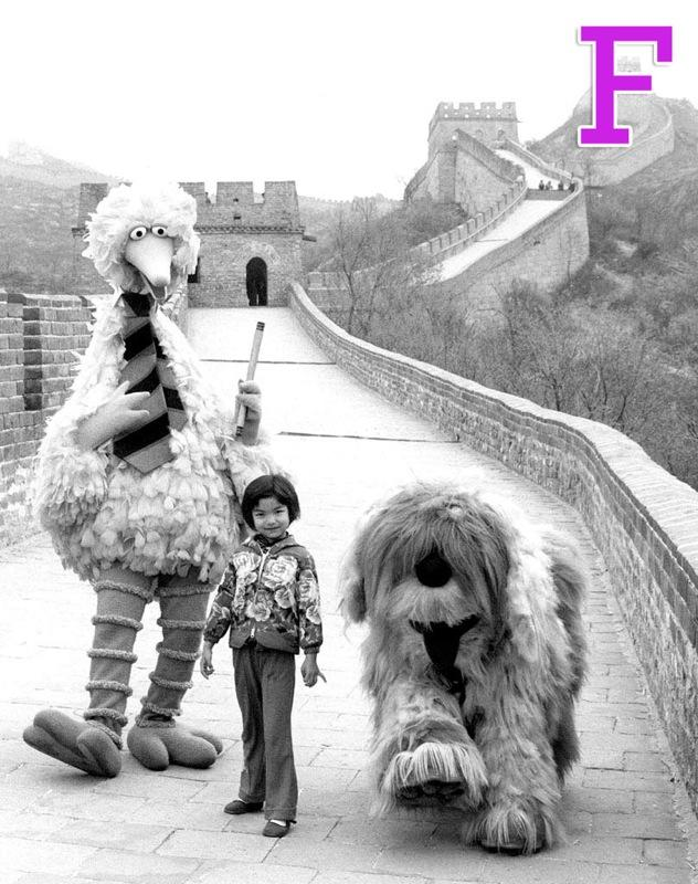 """F is for Foreign Lands: <a href=""""/sesame-street/show/33526"""">""""Sesame Street""""</a> has long given kids glimpses of other countries through short filmed pieces, and many of us learned our first Spanish words thanks to the show. And specials like """"Big Bird in China"""" really gave us a sense of the larger world. """"Sesame Street"""" has also been localized in more than 20 countries around the world. <a href=""""http://www.zap2it.com/"""" rel=""""nofollow"""">Source: Zap2it</a>"""