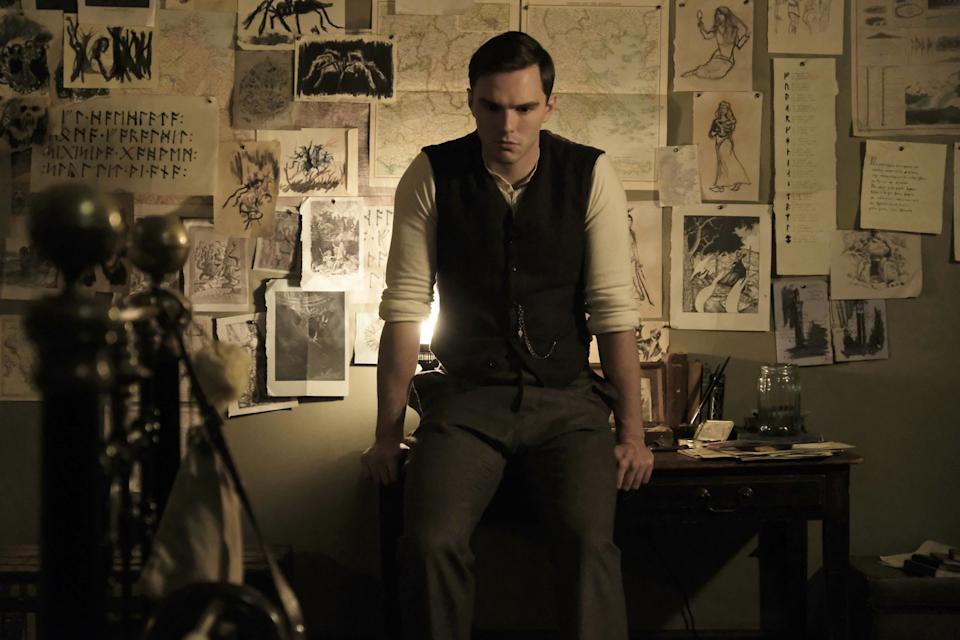 Taking on </p> <p>Tolkien : What Nicholas Hoult learned from playing the legendary author