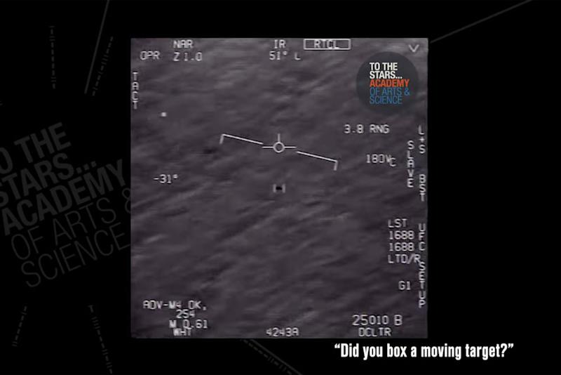 Unidentified object filmed by the U.S. Navy | Academy of Arts and Science/YouTube