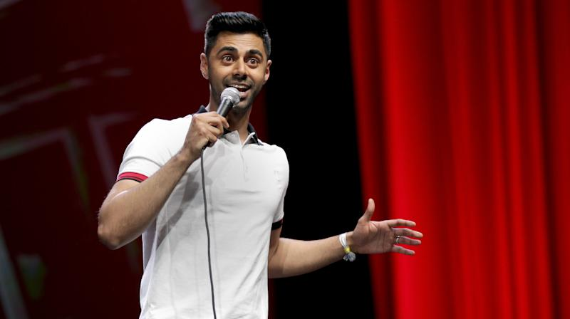 Comedian Hasan Minhaj took aim at President Donald Trump at GQ India's Men of the Year Awards, proving once again that he can throw some serious shade while looking classy AF.   Minhaj was in Mumbai on Friday to accept the publication's International Man of the Year award.