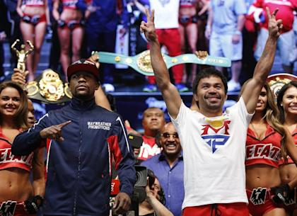 Interest will remain huge in Saturday's megafight. (AP)