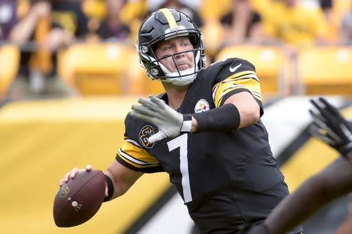 Ben Roethlisberger apparently has not lost confidence in himself. (AP Photo/Fred Vuich)