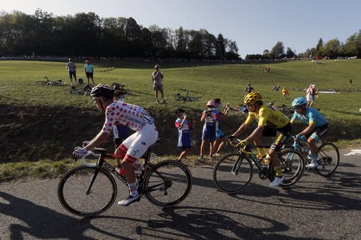 Roglic tightens grip on Tour lead as Ineos gets first win
