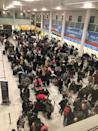 <p>Police are acting on the basis that it is 'a deliberate act to disrupt the airport'.</p>
