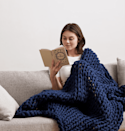<p>If you don't have a weighted blanket, this is the year to invest. We like the look and feel of this <span>Bearaby Cotton Napper</span> ($249), and you can customize the weight.</p>