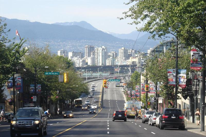 Downtown Vancouver is pictured in 2009