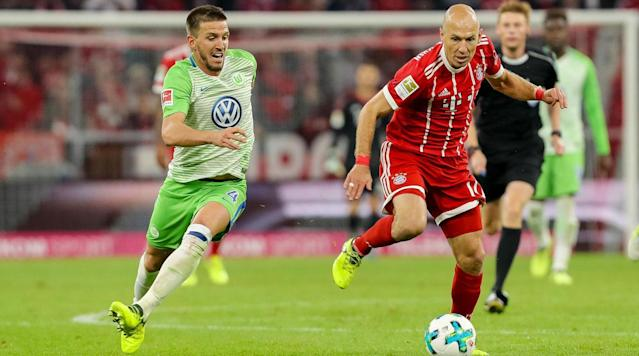 "<p>Bayern Munich is rolling toward another Bundesliga title, and the next hurdle on its quest is Wolfsburg, when the two meet on Saturday.</p><p>Bayern has won 12 games in a row in all competitions and has opened up a commanding 18-point lead in the league. It will have to be wary of looking ahead to next week's Champions League knockout encounter vs. Besiktas, though, and Wolfsburg will be hoping to take advantage of any lapse in focus.</p><p>The hosts are battling relegation, sitting just four points clear of the relegation playoff place, and it will be desperate to take points of Bayern. It managed to do so in their earlier meeting this season, playing to a 2-2 draw at Allianz Arena–though that was when Carlo Ancelotti was still managing Bayern.</p><p>Here's how to watch the match:</p><p><strong>Time</strong>: 9:30 a.m.</p><p><strong>TV</strong>: Fox Sports 1</p><p><strong>Live Stream</strong>: Watch the match live via FuboTV. <a href=""https://www.fubo.tv/lp/planet-futbol/"" rel=""nofollow noopener"" target=""_blank"" data-ylk=""slk:Sign up here for a free seven-day trial"" class=""link rapid-noclick-resp"">Sign up here for a free seven-day trial</a>.</p>"