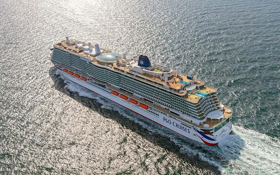 Iona, which officially joined the P&O Cruises fleet this month, is one of the most exciting new ships to sail its maiden voyage in 2021