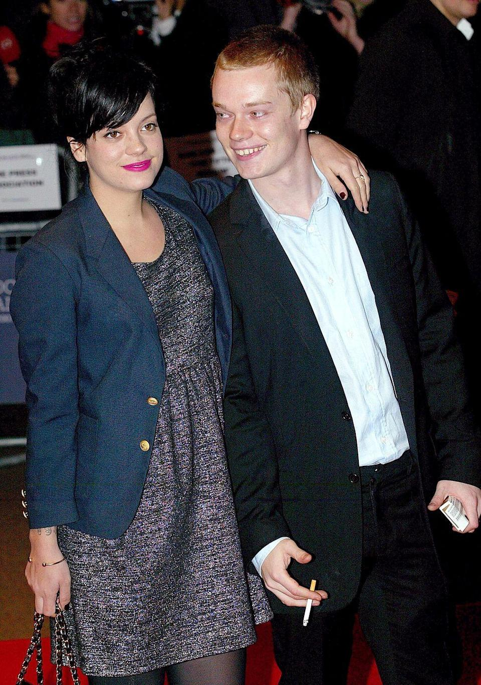 """<p>While Lily Allen and her younger brother have quite a few differences, they <em>do </em>share nearly identical noses and smiles. The singer's fans were blown away by pair's connection, <a href=""""https://twitter.com/thronesfacts/status/926011168162009088?lang=en"""" rel=""""nofollow noopener"""" target=""""_blank"""" data-ylk=""""slk:when it was revealed"""" class=""""link rapid-noclick-resp"""">when it was revealed</a> the rising <em>G</em><em>ame of Thrones </em>star was her brother. </p>"""