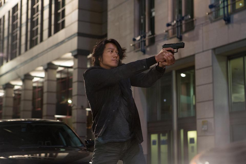 He's back: Sung Kang's Han is the cool, stoic heart of the series (Universal/Kobal/Shutterstock)
