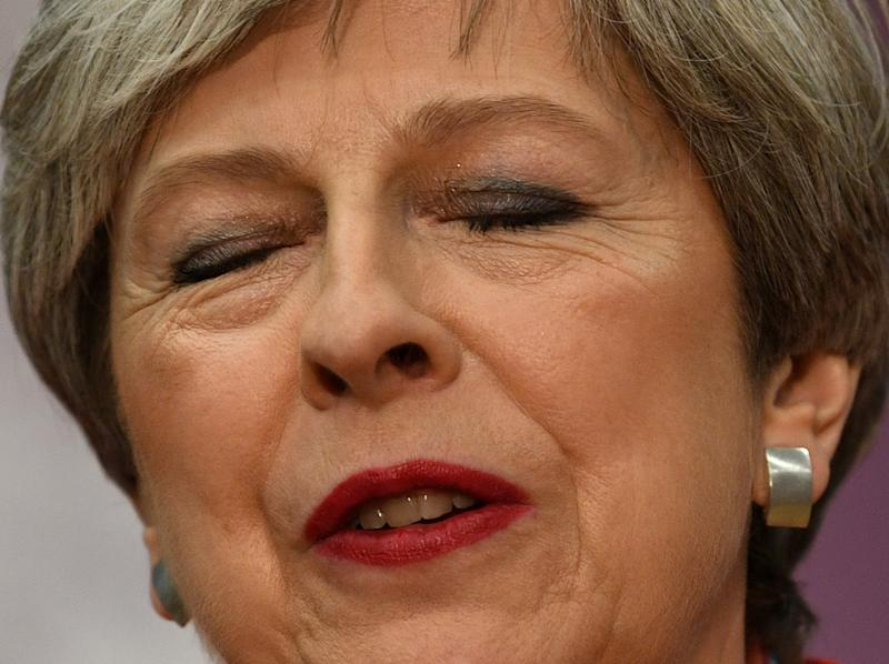 Theresa May has said she will not stand down as Conservative Party leader (PA Images)