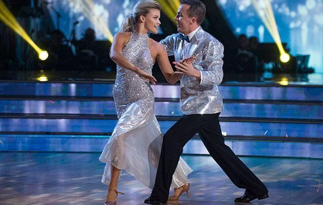 Frankie on Dancing with the Stars. Source: Getty