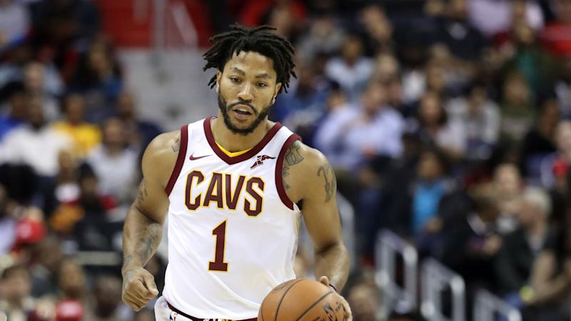sports shoes ba799 660f1 Derrick Rose not with Cavaliers, contemplating retirement