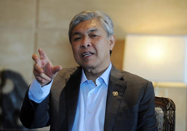 Datuk Seri Ahmad Zahid Hamidi (pic) has confirmed that Kim Jong-nam's body is preserved through embalming. — Bernama pic