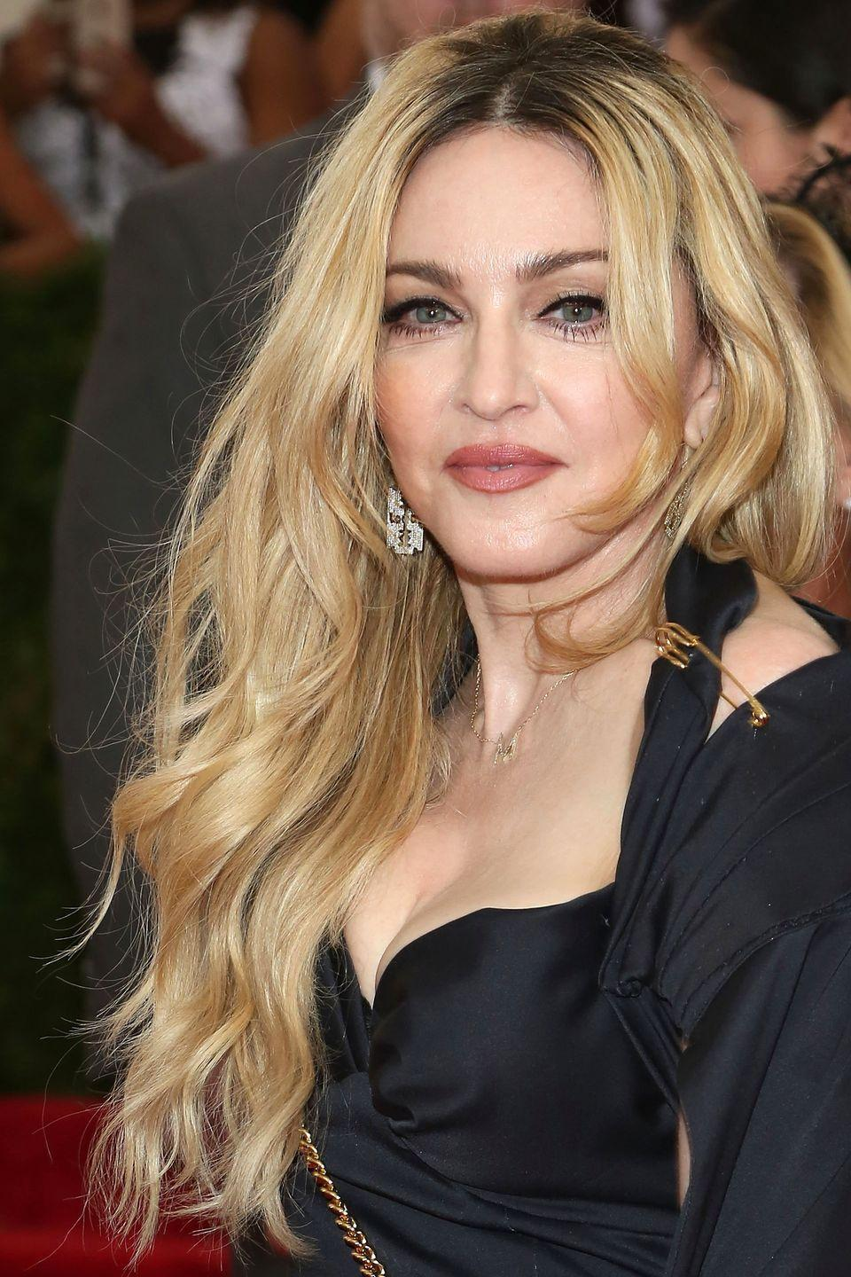 <p>Madonna's name is practically synonymous with blondness. After all, her Blonde Ambition tour was one of the biggest of its time!</p>