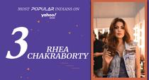 Rhea Chakraborty (born 1 July, 1992) <br>Indian Actor