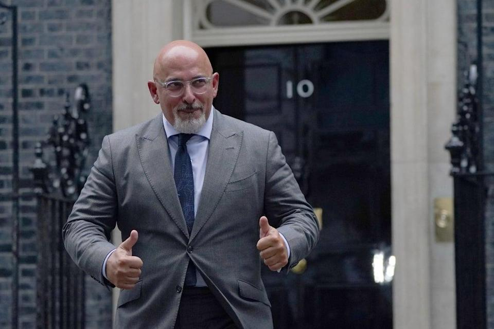 Nadhim Zahawi leaving 10 Downing Street, London, after being named as the new Education Secretary as Prime Minister Boris Johnson reshuffles his Cabinet. Picture date: Wednesday September 15, 2021. (PA Wire)