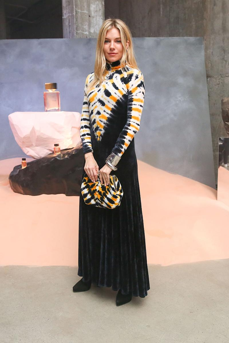 Sienna Miller What: Proenza Schouler Where: At the Proenza Schouler Arizona fragrance launch party, New York City When: February 10, 2018