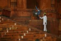 Eid festivities to mark the end of Ramadan were muted for India's Muslims