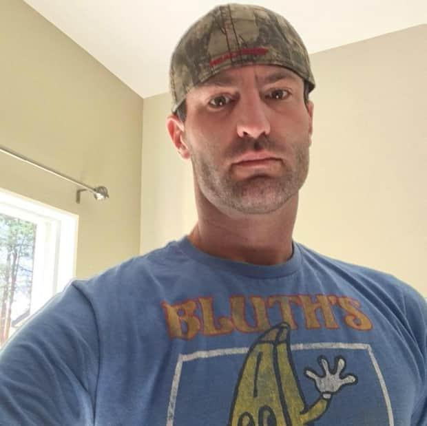 Justin Taylor Hartland, 38, is is accused of breaking into a lockbox to steal the master keys to a downtown apartment building on March 24. The keys were then used to break into the mailroom. (Facebook - image credit)