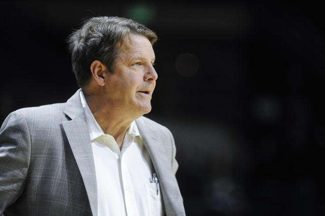 Tim Floyd retired on Monday after a loss to Lamar. (AP)