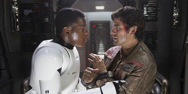 John Boyega and Oscar Isaac as Finn and Poe Dameron (Credit: Lucasfilm/Disney)