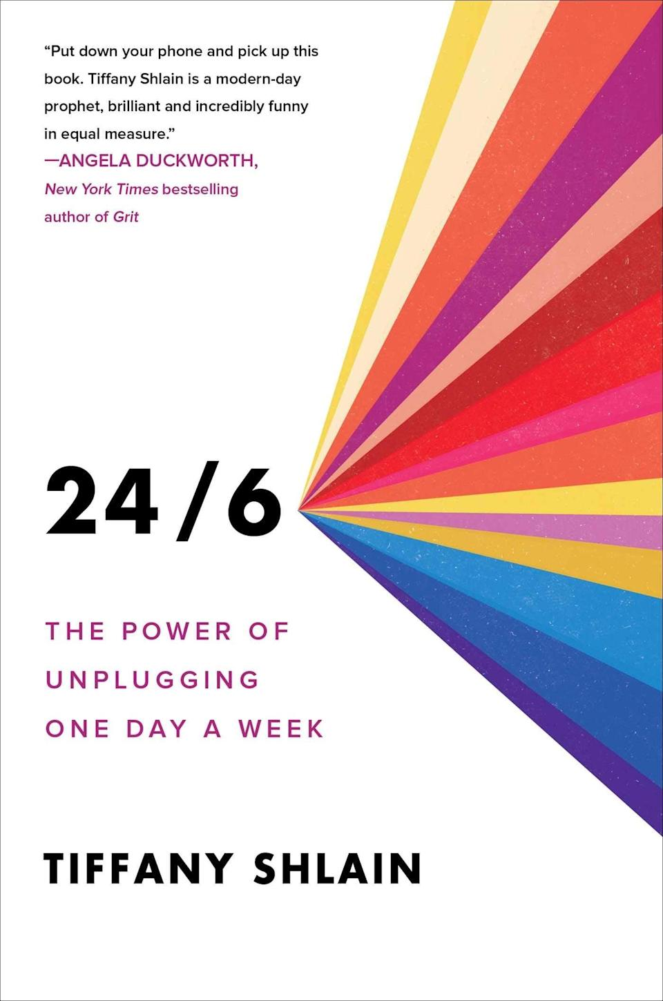 <p>Get ready to step away from the phones and step into this refreshing read! Tiffany Shlain, author of <b><span>24/6: The Power of Unplugging One Day a Week</span></b>, illustrates the impact of disconnecting from the digital world while introducing new methods to establish stronger and more heartfelt connections with those we hold dear to us in our everyday lives.</p>