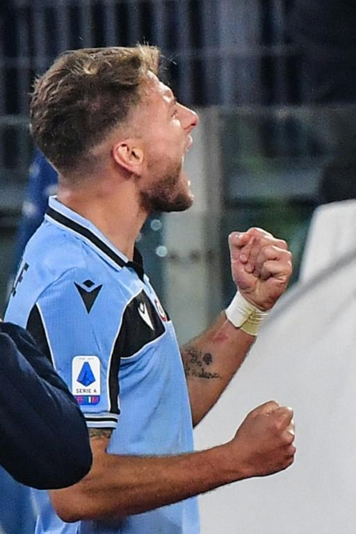 Hot shot: Ciro Immobile is the top Serie A scorer with 20 goals this season. (AFP Photo/Andreas SOLARO)