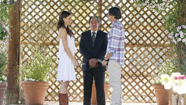 <p>I cannot emphasize how strange it was when contestant Courtney Robertson chose to stage a fake wedding during her hometown date with <em>Bachelor</em> Ben Flajnik, complete with vows, rings, and even an officiant. But apparently, Ben wasn't as weirded out by the whole production as I was, given that Courtney went on to win his season. </p>