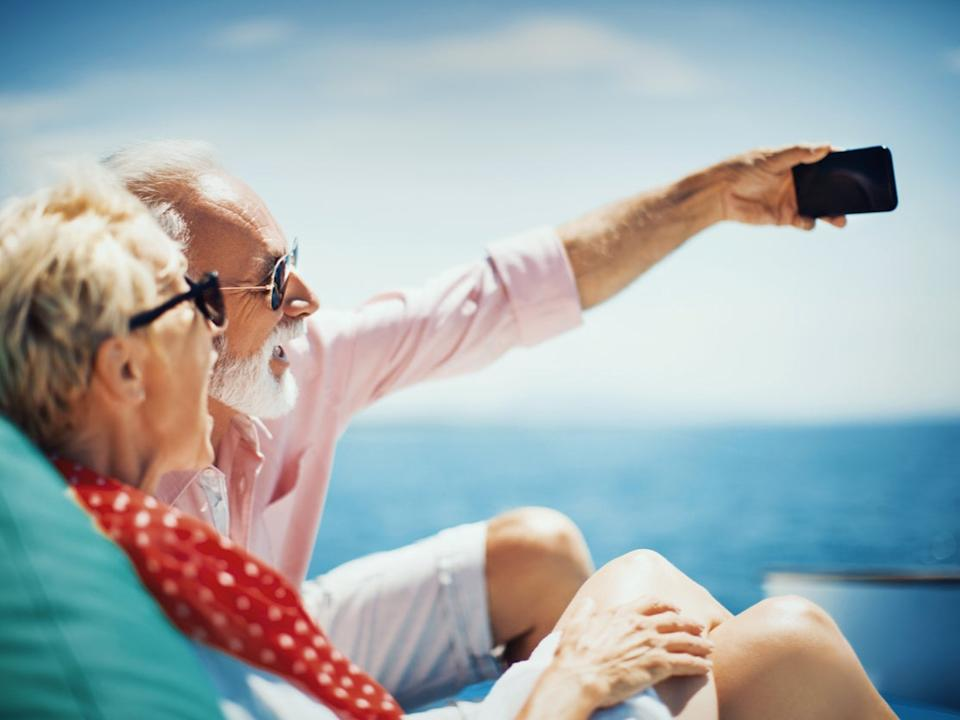 Older travellers are started to book their next holiday (Getty Images)