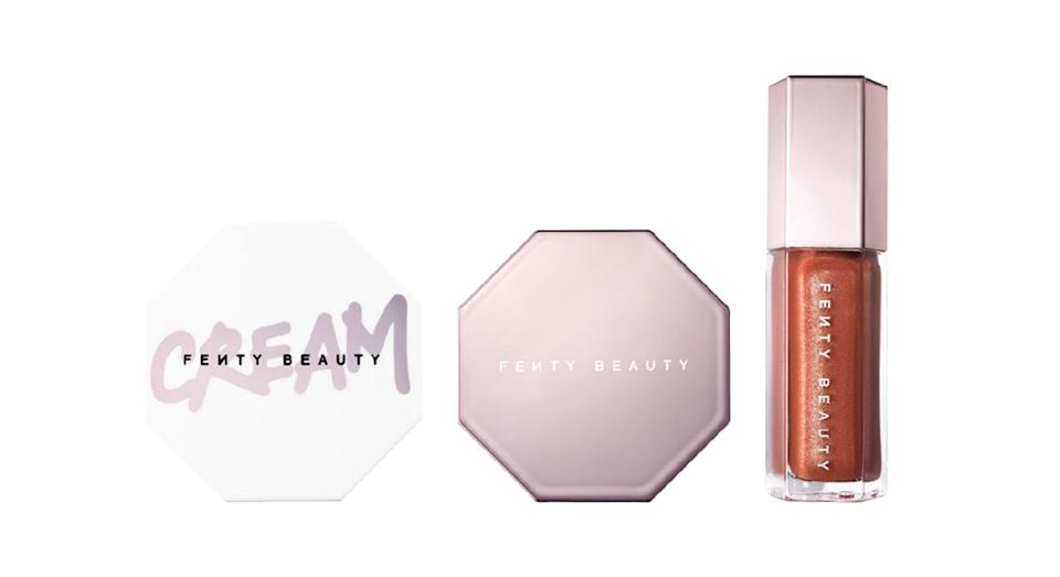 Fenty Beauty Glow Trio Face, Lip & Body Set