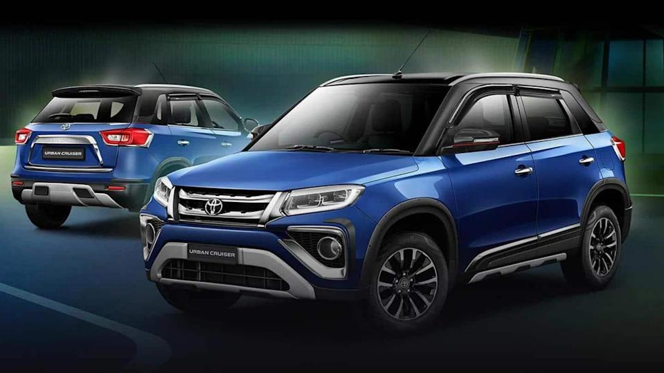 Toyota commences deliveries of its Urban Cruiser SUV in India
