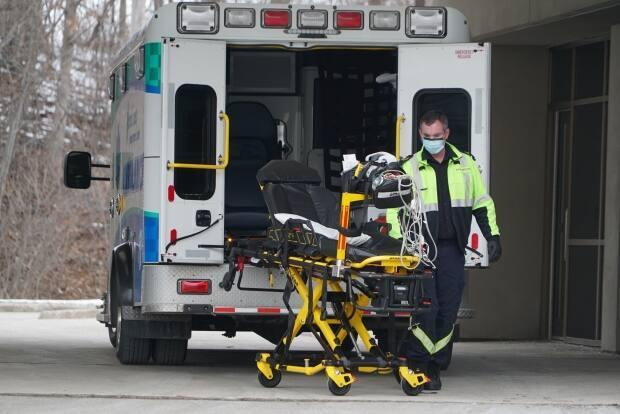 The province's first paramedic to contract COVID-19 is self-isolating, but the case is still under investigation, according to a union representative.  (Colin Butler/CBC - image credit)