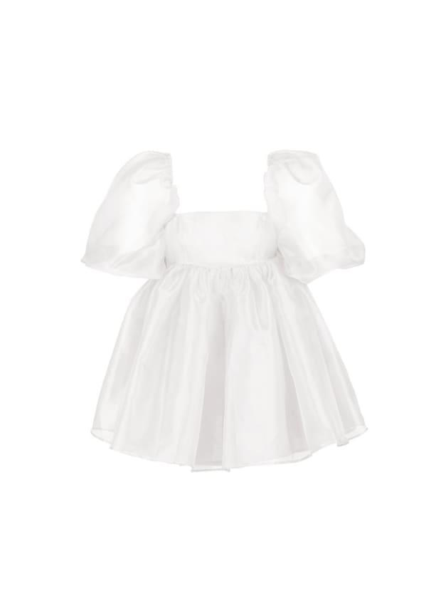 """<p>Selkie The Ivory Puff Dress, $249 (pre-order), <a href=""""https://selkiecollection.com/collections/puff-dresses/products/the-ivory-puff-dress-pre-order"""" rel=""""nofollow noopener"""" target=""""_blank"""" data-ylk=""""slk:available here"""" class=""""link rapid-noclick-resp"""">available here</a> (sizes XXS-5X).</p>"""