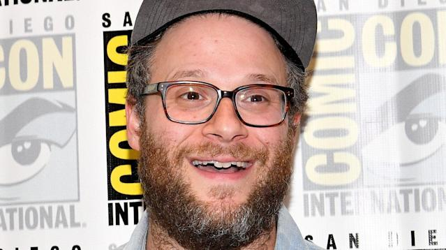 """Seth Rogen is here to remind us that Twitter DMs aren't just for those people saying, """"U up?"""""""