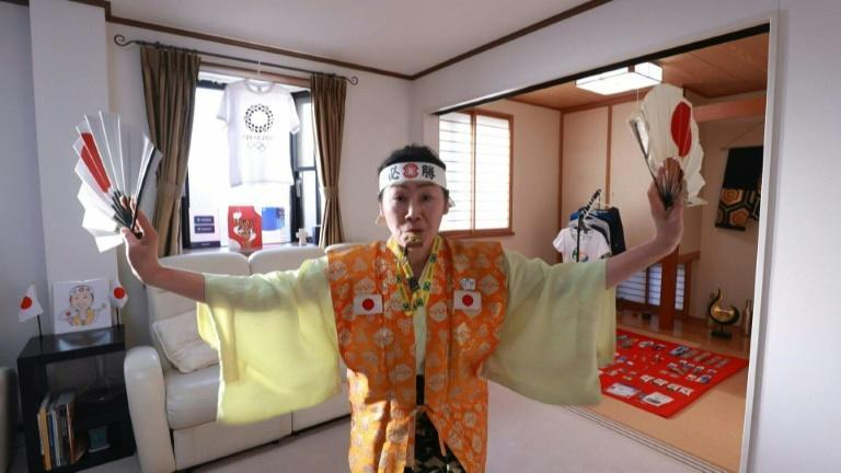 Olympic super-fan determined to welcome world to Tokyo