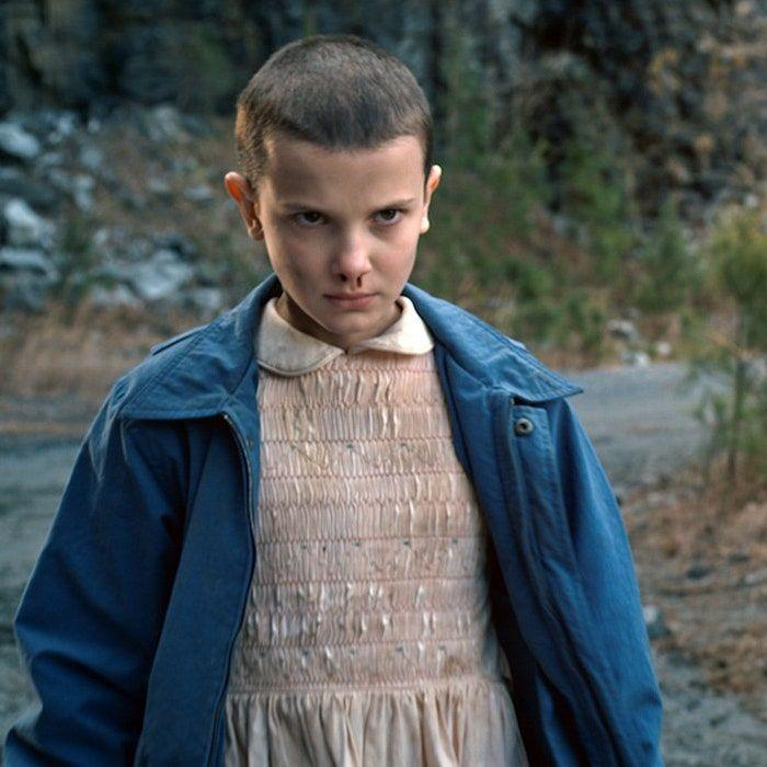 """<p>Millie Bobby Brown was only 12 years old when she chopped off her hair to play Eleven in <em>Stranger Things</em>. The decision ended up being the best thing for the young actress, whose career exploded due to the role. She later described the experience as """"the most empowering moment of my whole life,"""" on <a href=""""https://www.instagram.com/p/Bd8q7BVAEL3/"""" rel=""""nofollow noopener"""" target=""""_blank"""" data-ylk=""""slk:Instagram"""" class=""""link rapid-noclick-resp"""">Instagram</a>.</p>"""