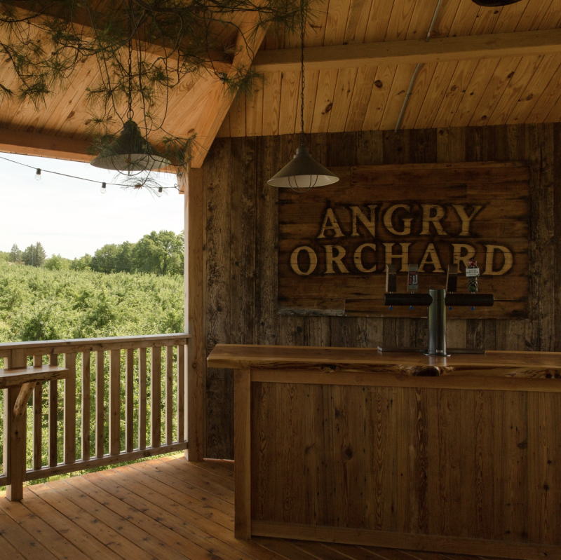 Angry Orchard staffers are accused of racially profiling a black woman, her new fiancé and their friends at their cidery in upstate New York. (Photo: Angry Orchard via Facebook)