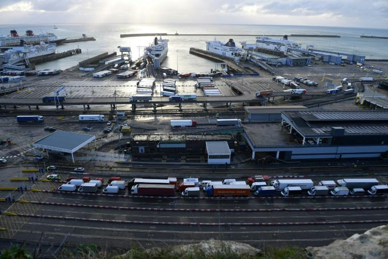 London has warned it could take days for thousands of trucks blocked around the port of Dover to get moving