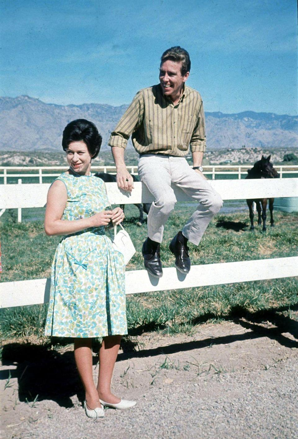 <p>Princess Margaret and Anthony Armstrong-Jones (Lord Snowdon) on tour of America in 1965.</p>