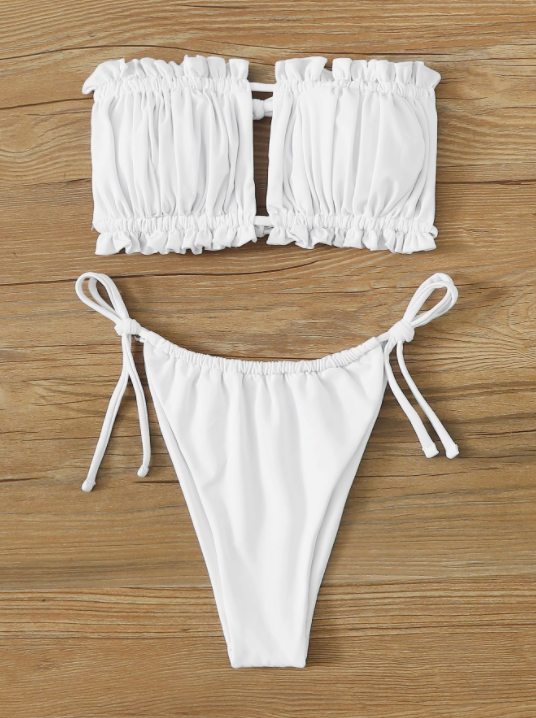 Tayla's swimsuit appears to be from online retailer Shein. Photo: Shein.