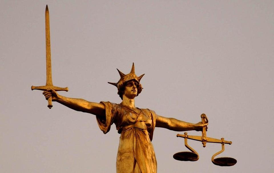 The Scales of Justice at the Old Bailey (PA Wire) (PA Archive)
