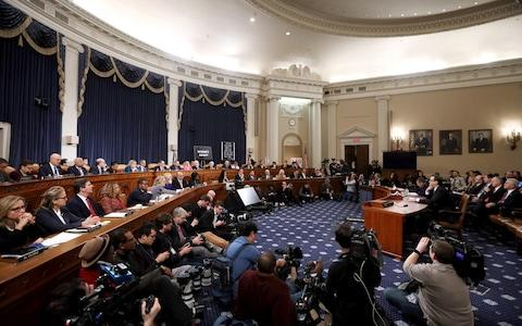 Lawyers for the House Judiciary Committee, Barry Berke representing the majority Democrats, and Stephen Castor representing the minority Republicans, testify before the House Judiciary Committee - Credit: Alex Wong/Getty Images