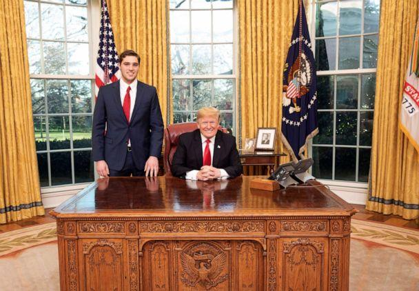 PHOTO: JT Lewis is seen with President Donald Trump. (White House via JT Lewis)
